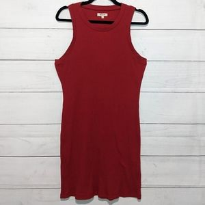 Madewell Celine Ribbed Knit Tank Dress P170